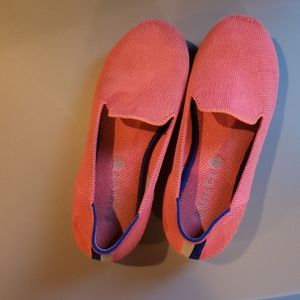 Hot pink rothys girls size 1